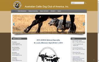 Australian Cattle Dog Club of America - ACDCA