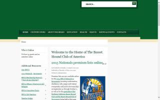 Basset Hound Club of America - BHCA