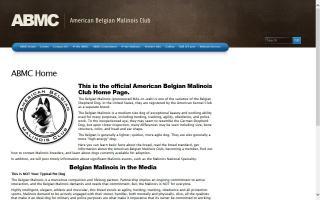 American Belgian Malinois Club, The - ABMC
