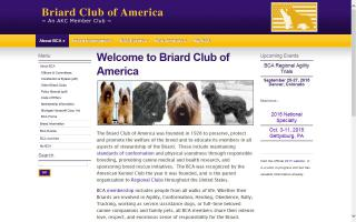 Briard Club of America - BCA