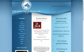 Bull Terrier Club of America - BTCA