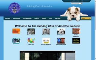 Bulldog Club of America, The - BCA