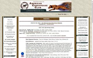 American Chesapeake Club - ACC