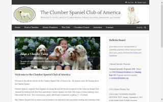 Clumber Spaniel Club of America - CSCA