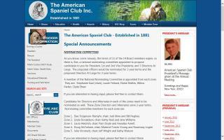 American Spaniel Club, Inc. - ASC