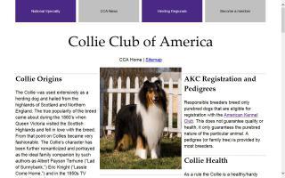 Collie Club Of America - CCA
