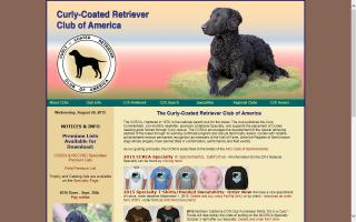 Curly-Coated Retriever Club of America - CCRCA
