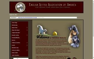 English Setter Association of America, Inc. - ESAA