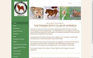 Finnish Spitz Club of America - FSCA