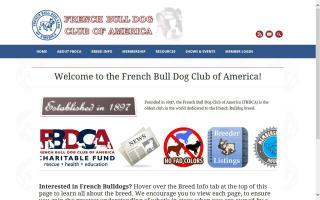 French Bull Dog Club of America - FBDCA