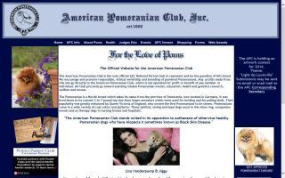 American Pomeranian Club - APC
