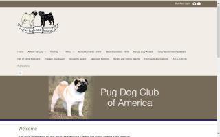 Pug Dog Club of America - PDCA