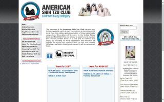 American Shih Tzu Club - ASTC
