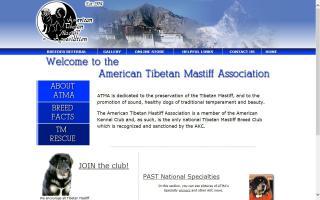 American Tibetan Mastiff Association - ATMA