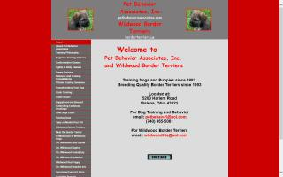 Pet Behavior Associates, Inc. / Wildwood Border Terriers