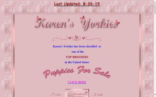 Karen's Yorkies