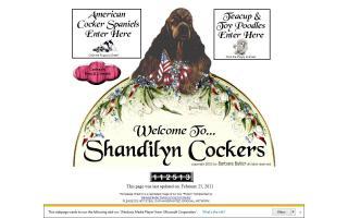 Shandilyn Cockers / Shandilyn ToyBox Poodles