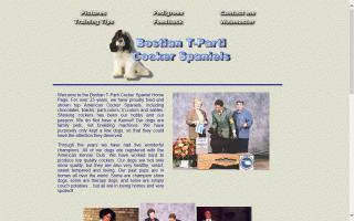 Bostian T-Parti Cocker Spaniels