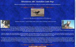 Silveraurora AKC Australian Cattle Dogs