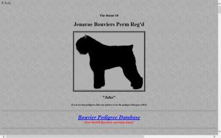 Jenarae Bouviers Perm Reg'd
