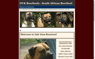 Oak View Boerboel