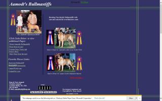 Aamodt's Bullmastiffs