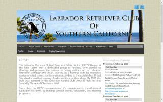Labrador Retriever Club of Southern California - LRCSC