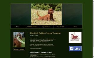 Irish Setter Club of Canada - ISCC
