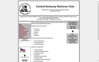 Central Kentucky Retriever Club