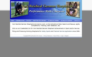 Vom Reichtal German Shepherds