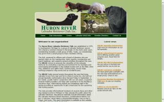 Huron River Labrador Retriever Club - HRLRC