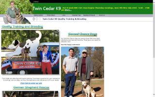 Twin Cedar K9