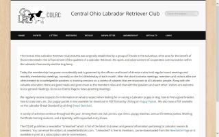 Central Ohio Labrador Retriever Club - COLRC