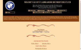 Miami Valley Labrador Retriever Club