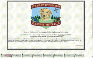 New Jersey Pine Barrens Golden Retriever Club - NJPBGRC