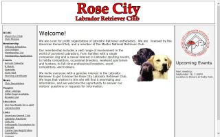 Rose City Labrador Retriever Club - RCLRC
