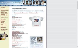 Great Dane Links Directory