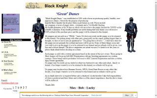 Black Knight Danes