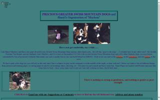 Sharyl Mayhew Greater Swiss Mountain Dogs