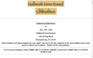 Hallmark Farm Kennel Chihuahuas