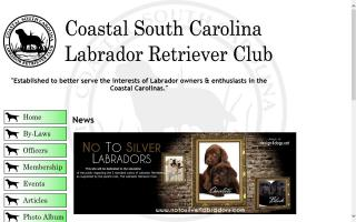Coastal South Carolina Labrador Retriever Club