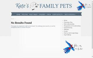 Kate's Family Pets