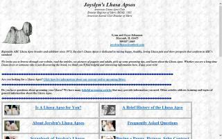 Joyslyn's Lhasa Apsos