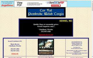 Cor Val Pembroke Welsh Corgis