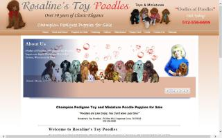 Oodles of Poodles - Rosaline's Toy Poodles