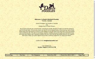 Dawin Standard Poodles
