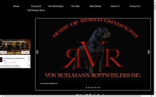 Von Ruelmann Rottweilers, Inc.