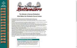 Vom Eschenhagen Rottweilers