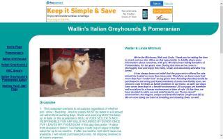 Wallin's Italian Greyhounds & Pomeranians