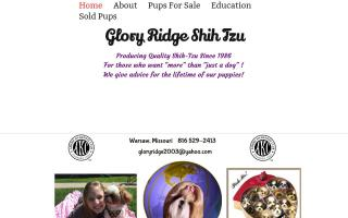 Glory Ridge Shih-Tzu